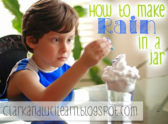 How To Make Rain In A Jar