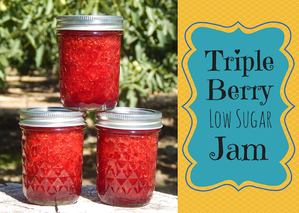 Triple Berry Low Sugar Jam