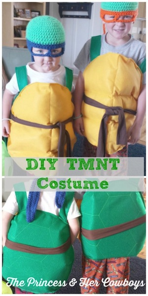 DIY Teenage Mutant Ninja Turtle Costumes