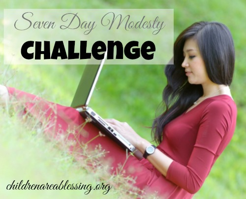 Seven Day Modesty Challenge