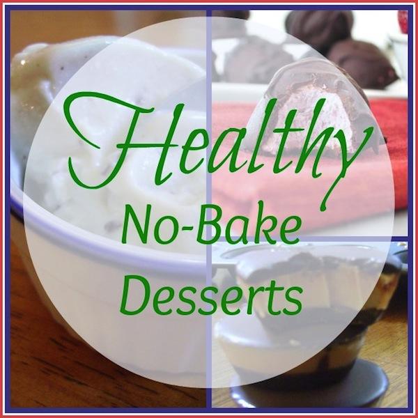 healthy no bake desserts