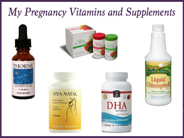 my favorite pregnancy vitamins and supplements