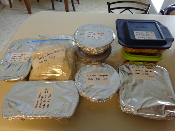 9 Freezer Meals and Burritos