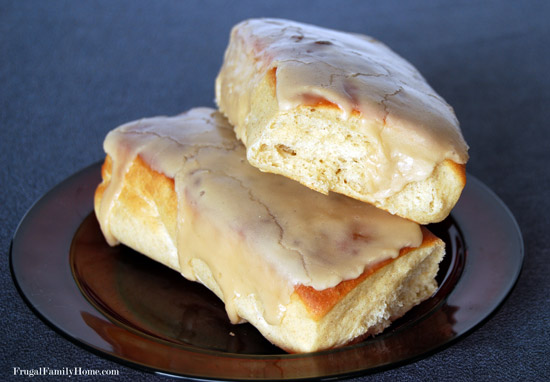 Baked Maple Bars