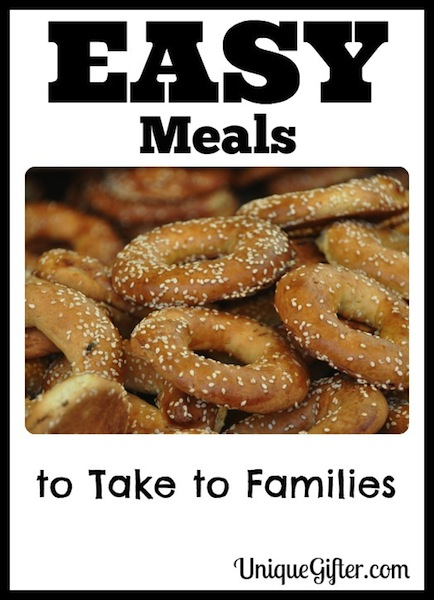 Easy Meals to Take to Families