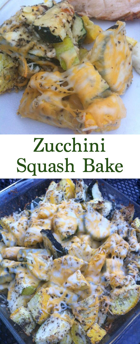 Are you tired of the same old squash casserole recipes? If you're looking for easy summer side dishes then look no further than this Zucchini Squash Bake. Not only is it easy and healthy but it's yummy too. Grab your yellow squash, zucchini and just a few other household staples and you'll have this in the oven and baked in no time. My husband and I both love roasted veggies so this recipe is a no-brainer when I need sides for dinner!