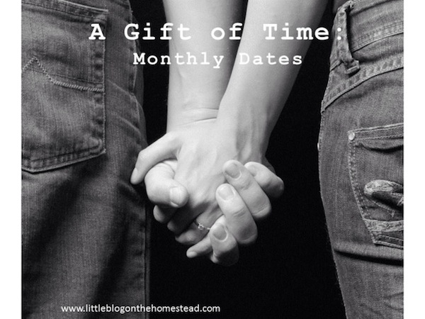 A Gift of Time - Monthly Dates