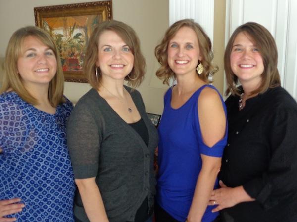 Leah, Annissa, Charity and Tshanina