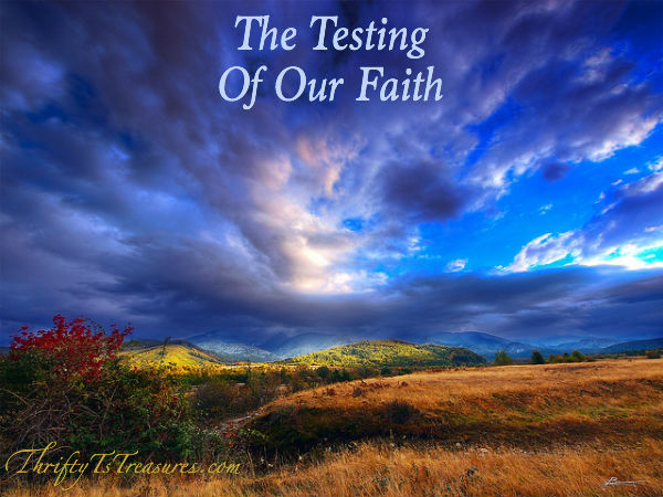 The Testing Of Our Faith | You may feel like you're sinking beneath the weight of your test. I totally get it because I've been there too!