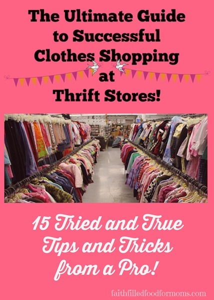 The Ultimate Thrift Guide To Successful Clothes Shopping At Thrift Stores