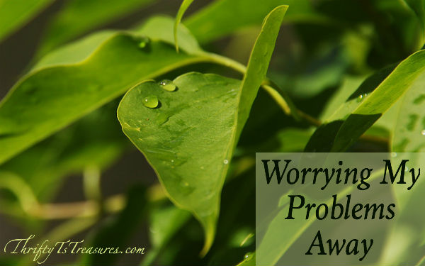 Even though I wish I could, worrying my problems away just isn't possible. But it is possible to find peace amidst our situation.
