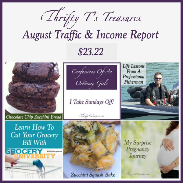 august traffic and income report