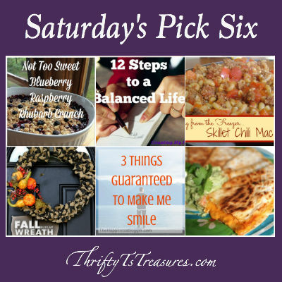 saturdays pick six week 20