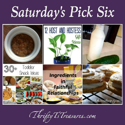 saturdays pick six - week 21