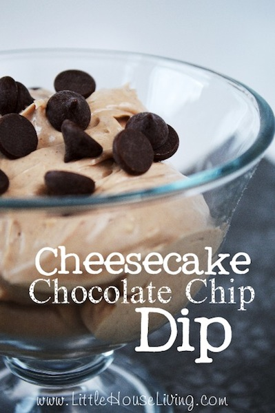 Cheesecake Chocolate Chip Dip