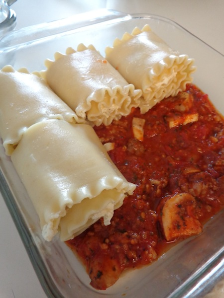 These Freezer Friendly Lasagna Roll-Ups are so yummy, and a fabulous variation from regular ole' lasagna. This crowd pleaser is comfort food at its finest!