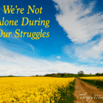 We're Not Alone During Our Struggles