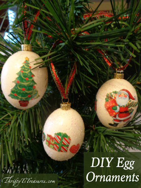These DIY Egg Ornaments are not only adorable, but making them will be fun for the whole family. Stop by for the step-by-step instructions!