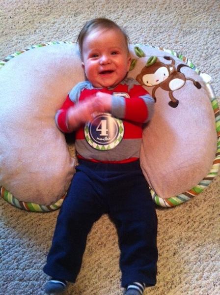 Dalton 4 months