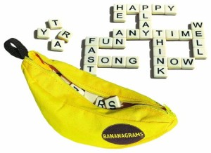 Date Ideas: 2 Player Games For A Stay-At-Home Date Night - Bananagrams