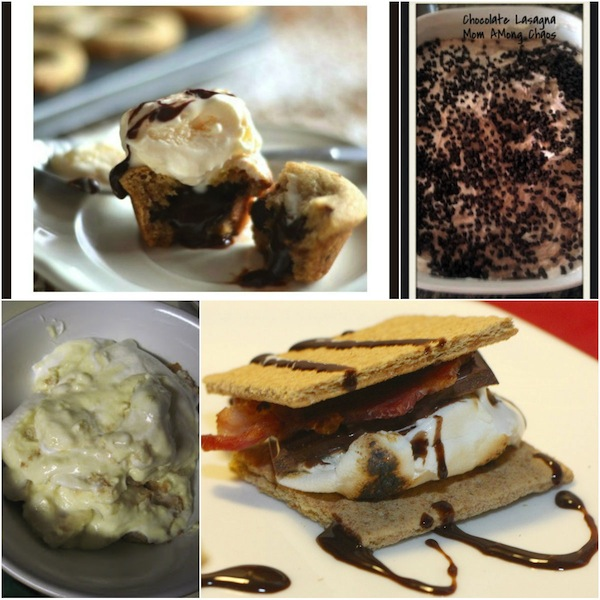 These date night desserts are perfect to add to your date idea list! Whether you slice up a piece of Strawberry Pie, have fun making Bacon S'Mores, or get a mouth full of Red Velvet Coconut Cupcakes while playing your favorite games, you're sure to find something yummy with these easy desserts!