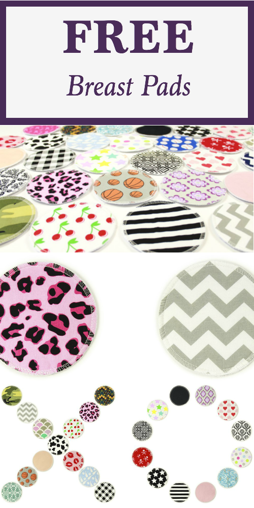 Snag 10 a free pairs of breast pads! Plus, check out the other freebies for new and expectant moms.