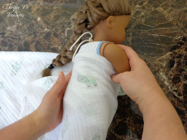 You've brought your baby girl (or baby boy) home from the hospital but you can't seem to remember everything the nurses showed you, especially swaddling! Follow these step-by-step directions and I'll show you how to swaddle a baby!