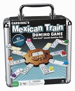 Date Ideas: 2 Player Games For A Stay-At-Home Date Night - Mexican Train Dominoes