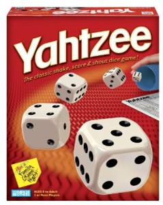 Date Ideas: 2 Player Games For A Stay-At-Home Date Night - Yahtzee