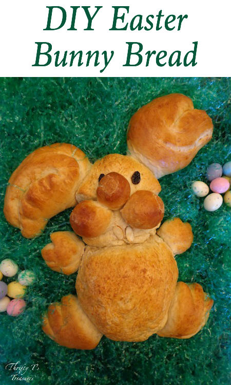 DIY Easter Bunny Bread