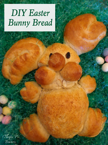 Creative ideas for Easter decorations can be hard to find...that is, until now! This DIY Easter Bunny Bread is the perfect addition for the centerpieces on your table and even fun crafts for the kiddos to make. Stop by for the step-by-step tutorial!