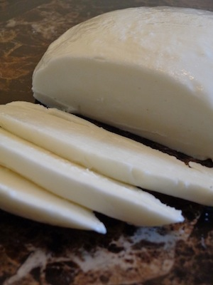 Homemade Mozzarella Cheese