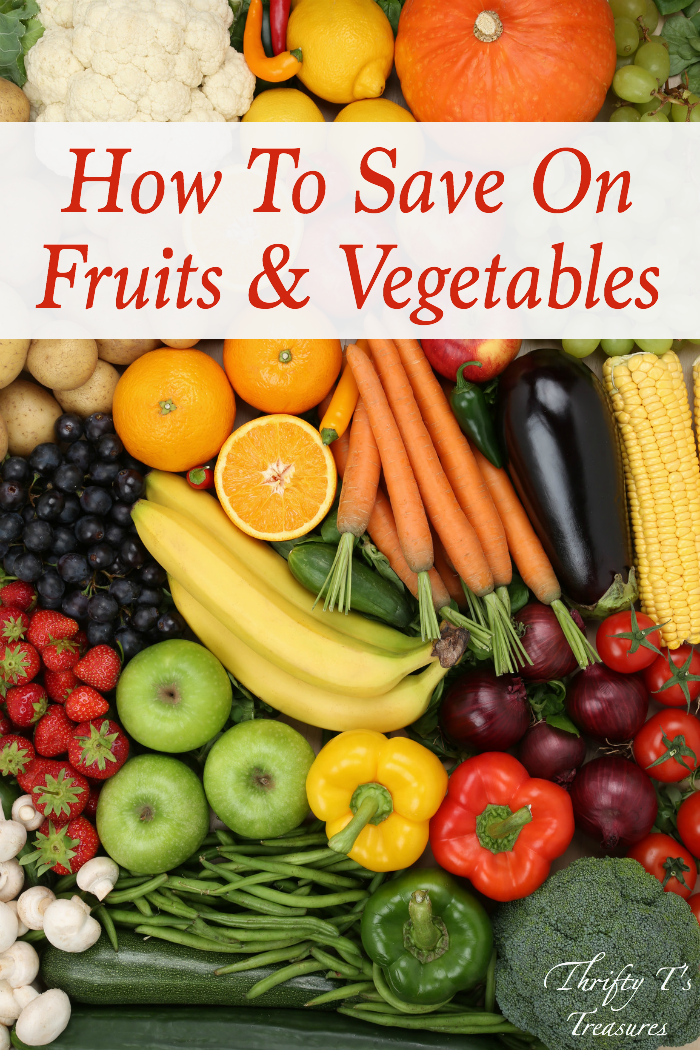 How to save on fruits and vegetables is an age old problem. The super simple solution that I'm sharing is my favorite way to save, and I know you're going to love it too!