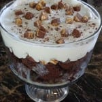 Super Easy Candy Bar Trifle