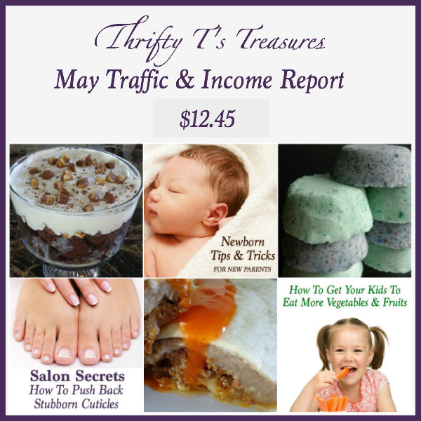Check out my blog traffic and income report for the month of April!