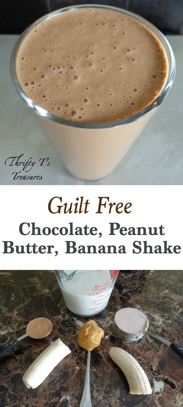 If you're looking for healthy breakfast ideas or recipes then this 5-ingredient Chocolate Peanut Butter Banana Shake is for you. Not only is it quick and easy but it's also yummy and filing and is perfect on the go for work and school during the summer and even winter. This smoothie is perfect whether you're into fitness and health or looking for smoothie recipes for the entire family. Kids can have fun getting out their blenders to make their morning protein shakes…and it tastes so sweet they don't even realize it's good for them! It's also perfect as fast and simple snacks for kids (of all ages).