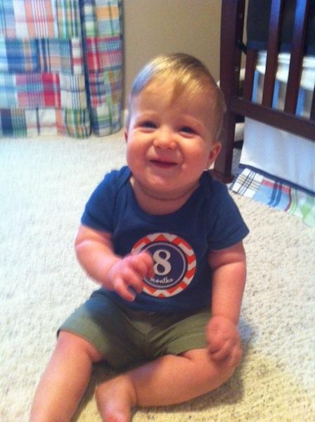 Dalton 8 months