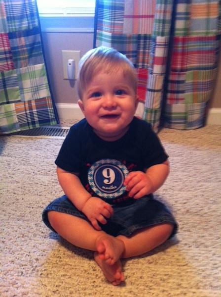 Dalton 9 months