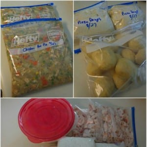 freezer cooking session 8 meals