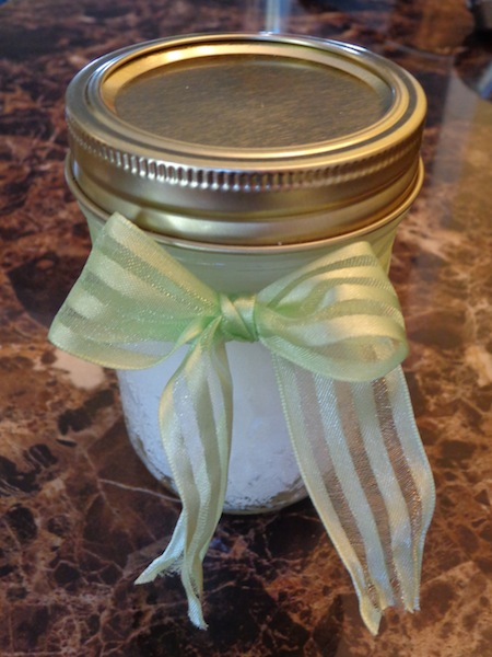 Looking for easy DIY crafts or DIY gifts? This 3 Ingredient DIY Sugar Scrub is the perfect gift ideas!
