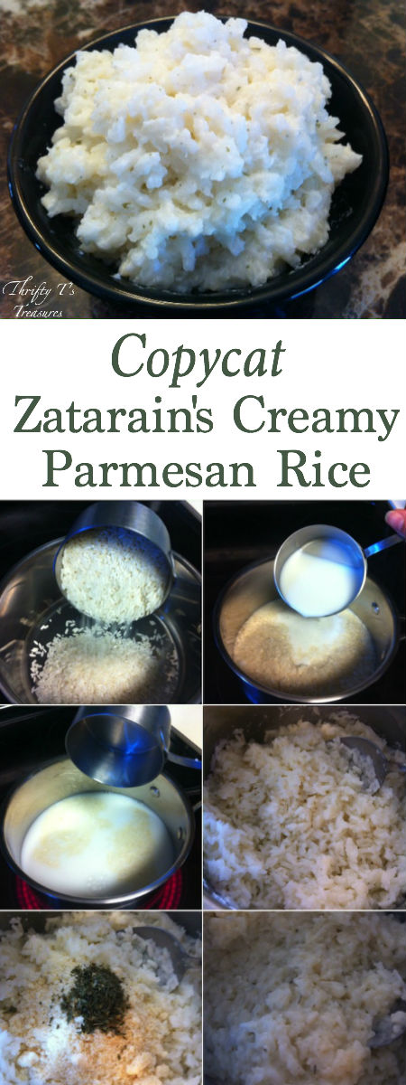 You'll not only want to add this Copycat Zatarain's Creamy Parmesan Rice recipe to your easy dinner recipes but to your copycat recipes as well! Yummo!
