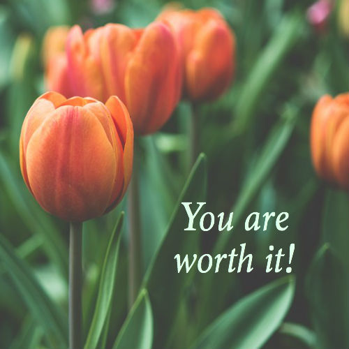 You are adored! You are worth it! These are two truths that everyone woman needs to believe if she's going to live a fulfilled life!