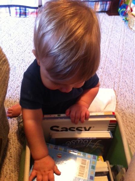 dalton with books