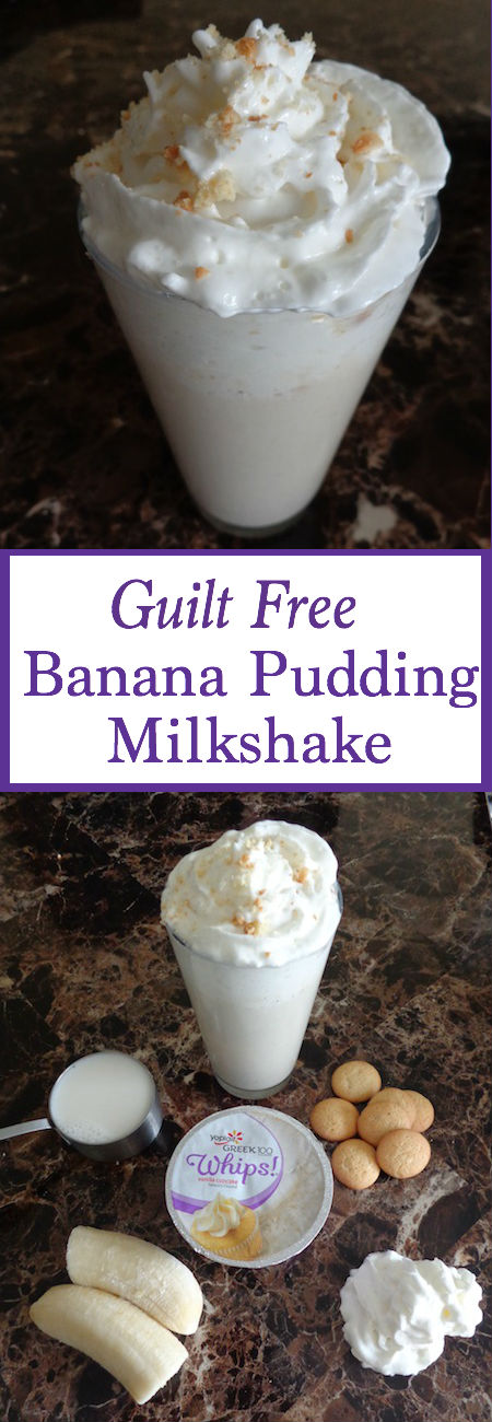 This Banana Pudding Milkshake is not only perfect for breakfast but ...