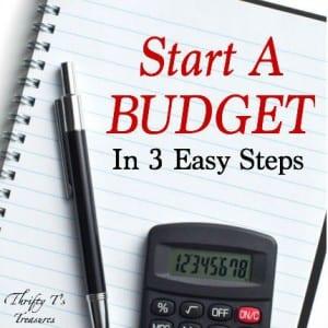 Start A Budget Featured