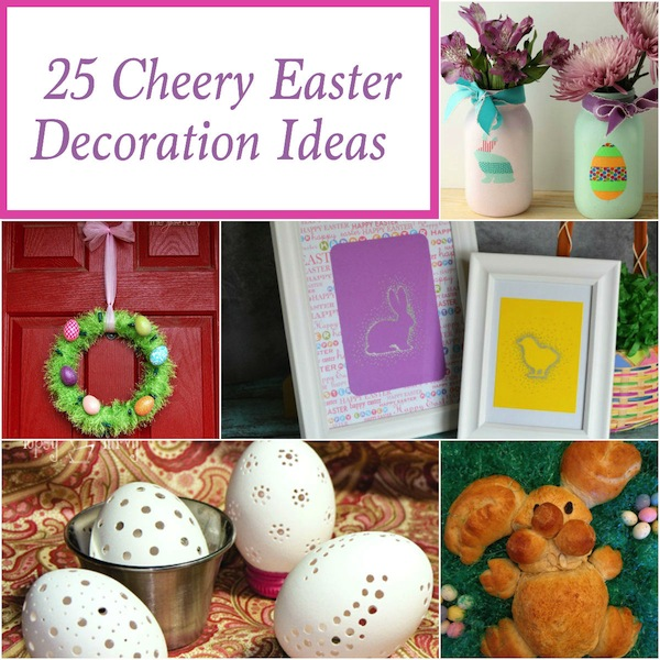 25 Cheery Easter Decorations