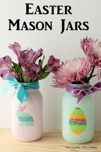 These 25 Cheery Easter Decorations Are The Perfect Diy Ideas For Mantle Table Mason Jars