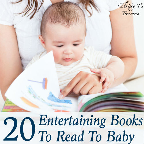 20 Entertaining Books To Read To Baby Featured