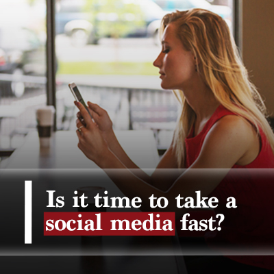 Is it time to take a social media fast featured