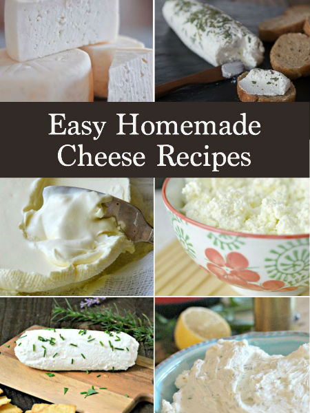 Easy Homemade Cheese Recipes